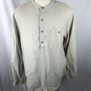The Territory Ahead Men's Large Banded Collar Silk